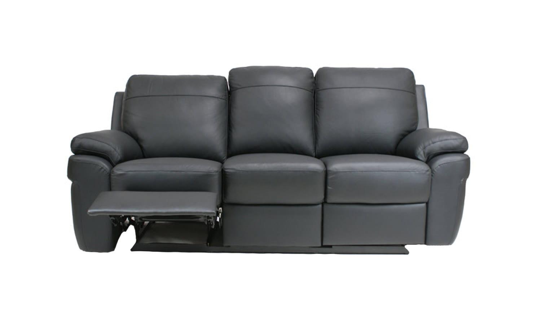 Philadelphia sofa skorzana 3 osobowa z funkcja relaks for Sofa bed philadelphia